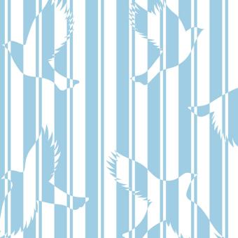 Polka Wallpaper Ciel Little Cabari