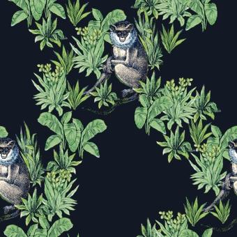 Le Singe Panel Beige Maison Images d'Epinal