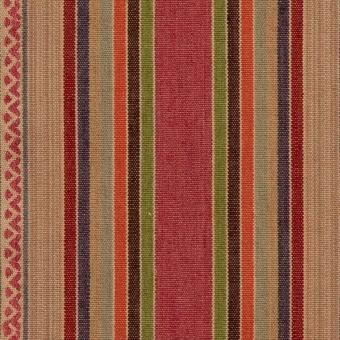 Tissu Art Stripe Multi Mulberry
