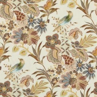 Tissu Artist Garden Sage Mulberry