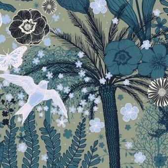 Jardin d'Hiver Panel Aube Etoffe.com x M.Cailloux