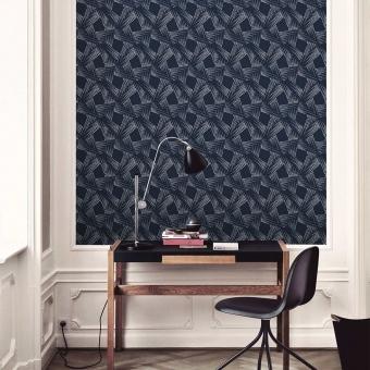 Hélice Wallpaper Aqua Maison Martin Morel