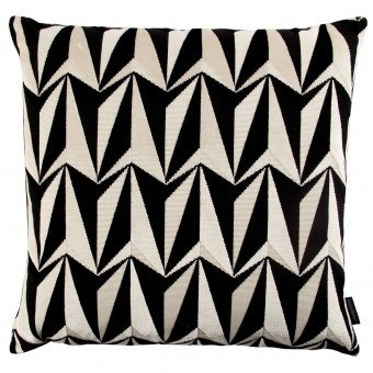 Coussin Origami Rockets Monochrome Kirkby