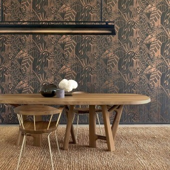 Eden Wallcovering Bronze Arte