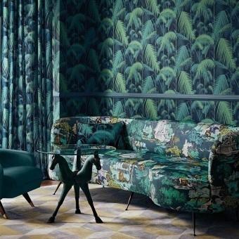 Versailles Grand Fabric Bright Classic Multi Cole and Son