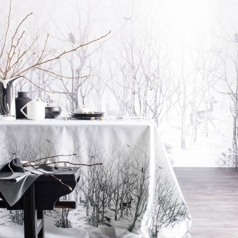 La Forêt Enchantée Tablecloth 150x150 cm Alexandre Turpault