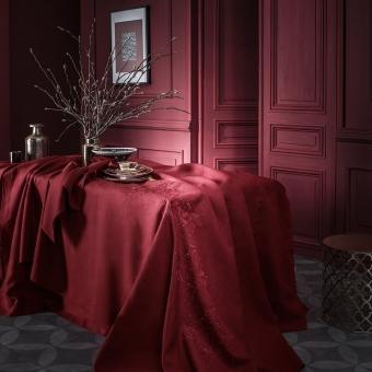 Saisons Cranberry Tablecloth 170x170 cm Alexandre Turpault