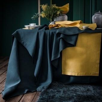 Saisons Cyprés Tablecloth 170x170 cm Alexandre Turpault