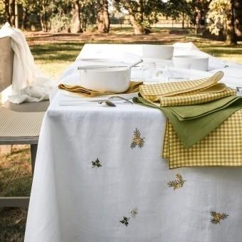 Vert Galant Tablecloth 170x170 cm Alexandre Turpault