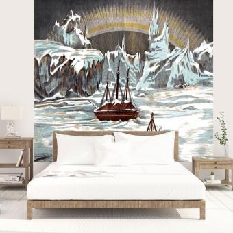Arctique Panel 385x296 cm Maison Images d'Epinal