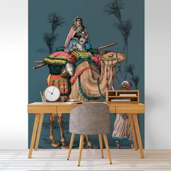 Dromadaire n°11 Panel 208x330 cm Maison Images d'Epinal