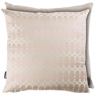 Coussin Loopy Link Biscuit Kirkby