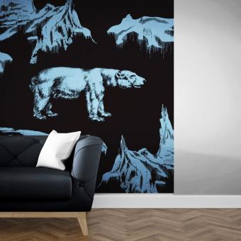 Ours Panel 235x292 cm Maison Images d'Epinal