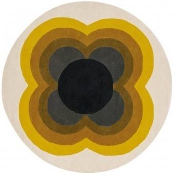 Tapis Sunflower Yellow 150 cm Orla Kiely