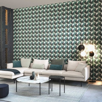 Cosma Wallpaper Beige Arte