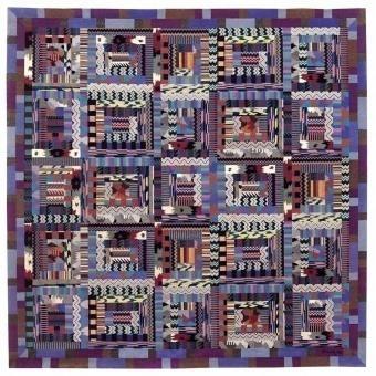 Tapis Orion Oceani 250x250 cm Missoni Home