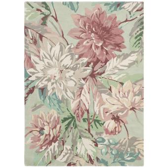 Tapis Dahlia and Rosehip Mulberry 170x240 cm Sanderson