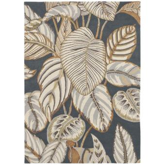 Tapis Calathea Charcoal 170x240 cm Sanderson