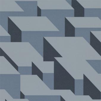 Papier peint Cubic Bumps Blush Kirkby
