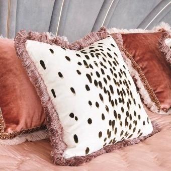 Tottenham Dalmatian Velvet Cocoa Poodle and Blonde