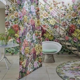 Tissu Grandiflora Rose Dusk Designers Guild