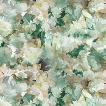 Tissu Fleurs de Jour Céladon Designers Guild