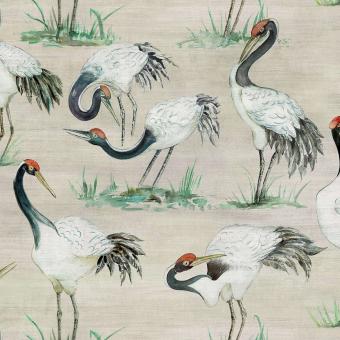 Papier peint Cranes Beige Osborne and Little