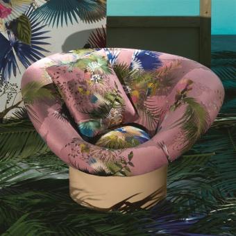 Oiseau Fleur Fabric Bourgeon Christian Lacroix