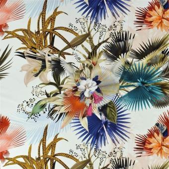 Oiseau de Bengale Fabric Camélia Christian Lacroix