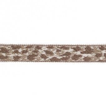 18 mm Leopard Braid Beige Houlès