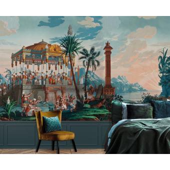 Panneau Les Incas Monochrome Le Grand Siècle
