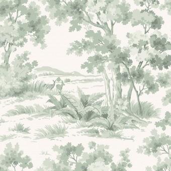 Countryside Morning Wallpaper Spring Borastapeter