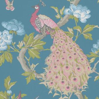 Papier peint Pavona Blanche Little Greene