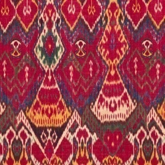 Uzbek Ikat Fabric Mulicolore Mindthegap