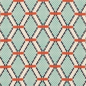Guinguette Fabric Brown Nobilis