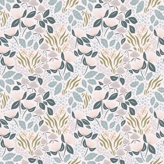 Floral Chic Rose Wallpaper Clair Lilipinso