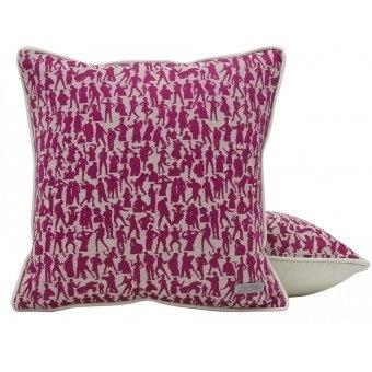 Show Cushion Fuchsia Jean Paul Gaultier