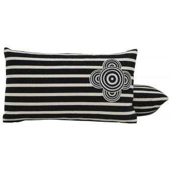Perspective Cushion Ecru/Bleu Jean Paul Gaultier