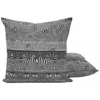 Galerie Cushion Noir Jean Paul Gaultier