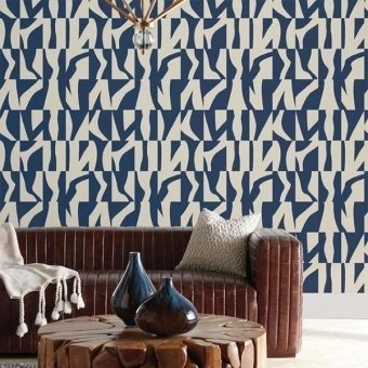 Sketchbook Wallpaper Buff/White York Wallcoverings