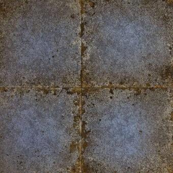 Lustre Tile Wallpaper Bronze Zoffany