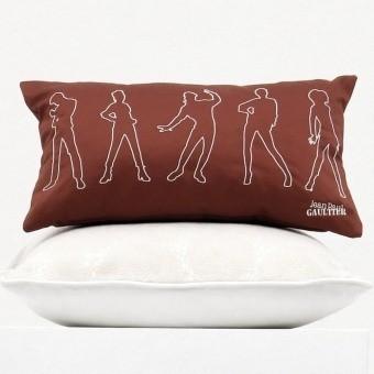Model Cushion Ecru/Fuschia Jean Paul Gaultier