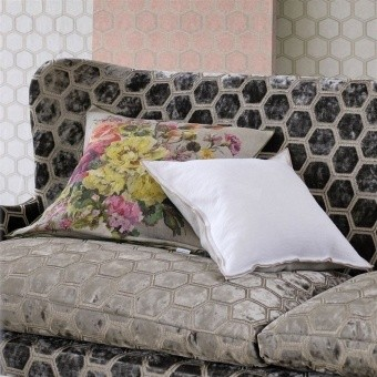 Grandiflora Rose Cushion Épice Designers Guild