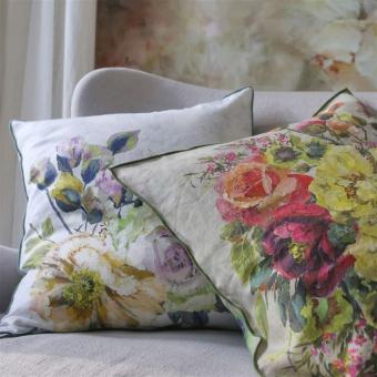 Grandiflora Rose Cushion Épice Designers Guild