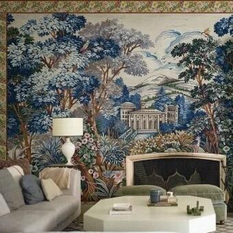 Panneau Tapestry Blue Coordonné