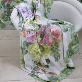 Grandiflora Rose Epice Throw 130x180 cm Designers Guild