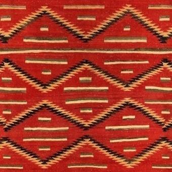 Eyedazzler Fabric Red/Yellow Mindthegap