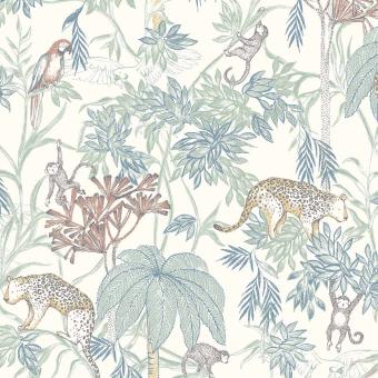 Wild Jungle Wallpaper Green Borastapeter