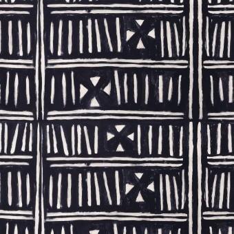 Bogolanfini Fabric Black/White Mindthegap