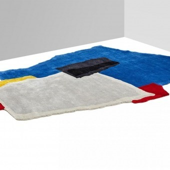 Tapis Ripped, Teared and Colored 3 Color Nodus